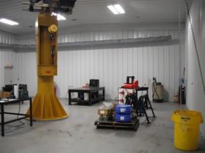 Thomson Service Center Cleanroom