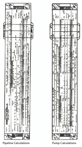 hydraulic slide rule